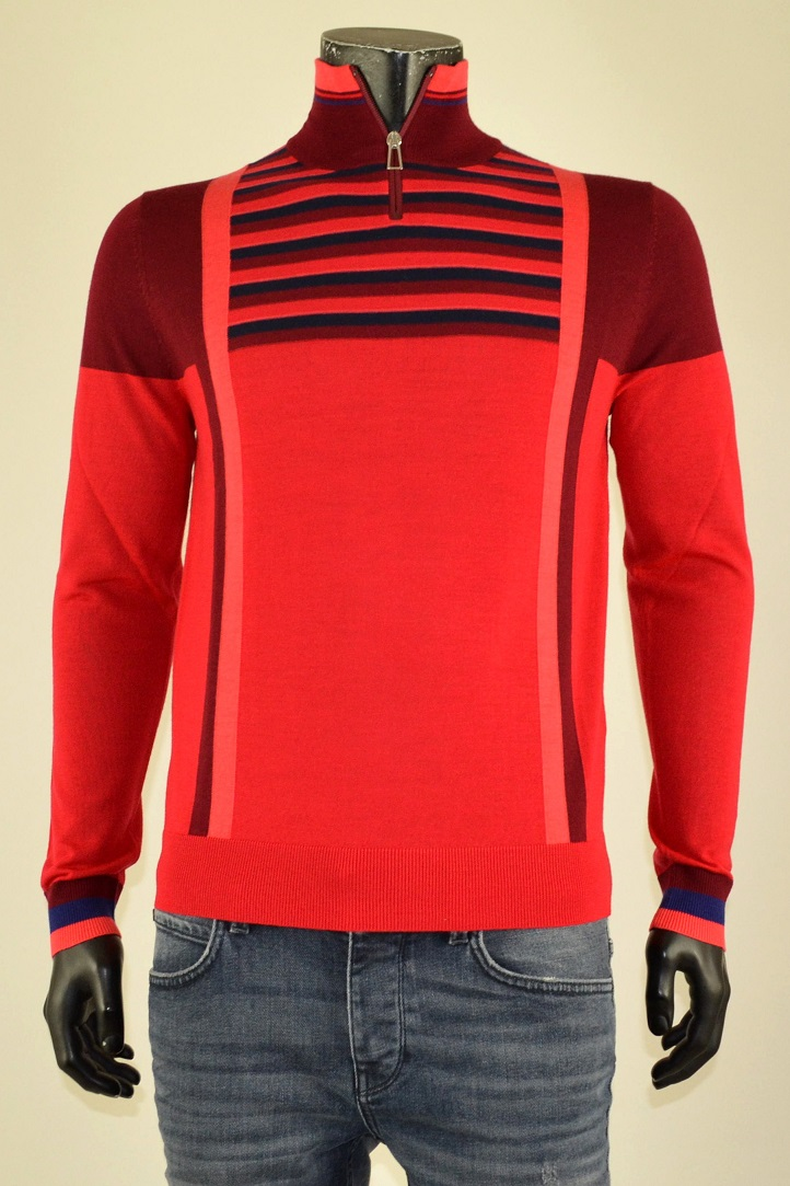 Pull Zipneck Red